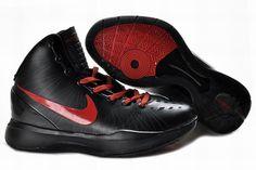 1ee361a54ae0 Nike Zoom Hyperdunk Elite Blake Griffin Away Black University Red PE Hyper  Shoes 2013