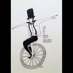 (by Jorge Méndez) soy mi propio equilibrio... Y a veces me ayuda tu mano a recomponerme para no caer