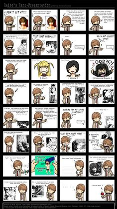 Death note comics - Anything Anime In Our World!!! Photo (23434215) - Fanpop