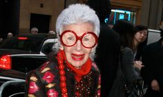 After a lifetime of dressing in her own flamboyant manner, at 90, Iris Apfel is delighted to find herself New York's latest fashion muse