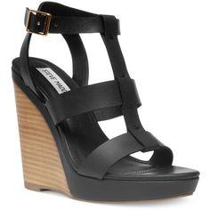 Steve Madden Women's Iris Platform Wedge Sandals found on Polyvore