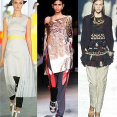 How To Wear The Skirt-Over-Pants Trend