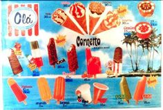 Portuguese ice creams from my childhood :) Gelados Olá 1982 Vintage Advertising Posters, Vintage Advertisements, Vintage Posters, Old Scool, Remember The Time, Old Ads, Lost & Found, Cool Art, Fun Art