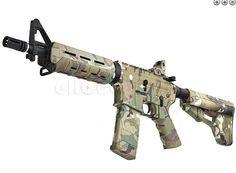 Custom G M4 MOE CQB Multicam by eHobby Asia  http://www.operator7airsoft.com/2012/05/07/custom-gp-m4-moe-cqb-multicam-by-ehobby-asia/