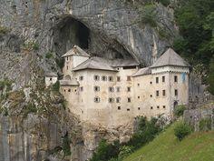 Predjama Castle in Slovenia, one of our 25 things to do in Slovenia: http://www.europealacarte.co.uk/blog/2011/10/17/what-to-do-slovenia/