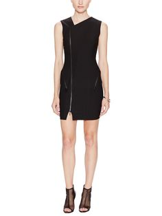 Rory Asymmetrical Zip Dress by Elizabeth and James