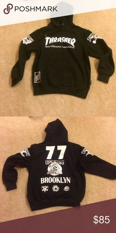 7e605a595a41 Rare thrasher hoodie NEW SIZE XL BUT CAN FITS AN L OR M Thrasher Tops  Sweatshirts