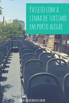 Passeio com a linha de turismo em Porto Alegre. Um jeito de conhecer a cidade de um modo diferente. Porto Alegre, Rio Grande do Sul, RS, Poa, passeio, turismo, viagem, travel, trip, dicas de viagem.