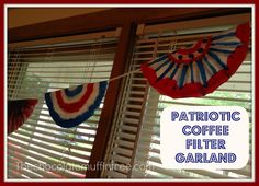 Chocolate Muffin Tree: Patriotic Coffee Filters