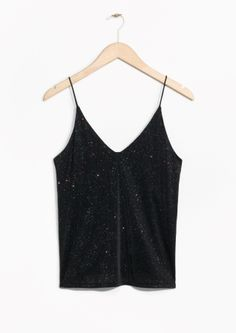 & Other Stories | Glitter Tank Top