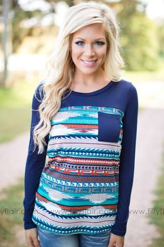Aztec Prints are perfect for fall outfits!