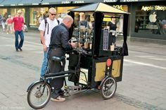 The Mobile Espresso Bar at WhereaboutsPhoto: Mobile Restaurant, Mobile Cafe, Mobile Shop, Coffee Carts, Coffee Truck, Food Box, Bicycle Cafe, Mobile Coffee Shop, Cider Bar