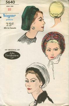 John Frederics (Mr. John) for Vogue, 1962