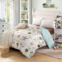 Floral Bedding Set Duvet Quilt Fitted Cover Bed Sheet Cotton For King Queen Full Twin Size Bedclothes Comforter Linens Floral Bedding, Linen Bedding, Bed Linen, Bedclothes, Luxury Bedding Sets, Quilt Sets, Quilt Cover, King Queen, Modern Minimalist