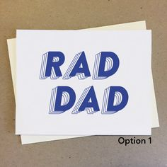 Great for showing appreciation, birthdays, saying thank you, and telling dad how cool he really is. Show Appreciation, Mom And Dad, Bro, Handmade Items, Birthdays, Dads, Valentines, Cool Stuff, Creative