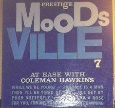 At Ease With Coleman Hawkins 1960 Prestige / Moodsville Vinyl Jazz Record Album Green Label by RASVINYL on Etsy