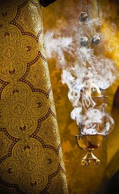 orthodoxwayoflife:  I love the sweet smell of incense! :)  Orthodox Christians worship holistically — our worship engages all five senses. B...