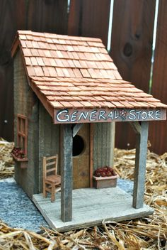 "Birdhouse Collection - ""General Store"" by RDEnterprises on Etsy"