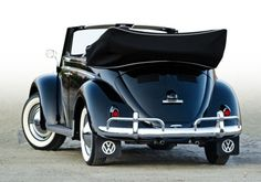 My first car was a 1960 convertible bug. Cream with a black top. Loved that car