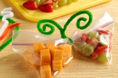School snack idea - Click image to find more Kids Pinterest pins