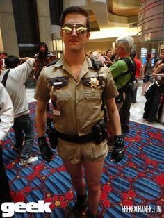 Lt Dangle - Reno 911 - Geek Magazine