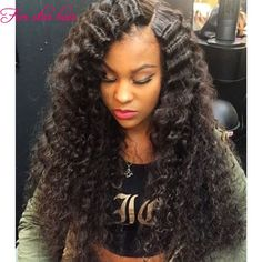 146.12$  Watch now - http://alia1n.worldwells.pw/go.php?t=32695439376 - In Stock Brazilian U part wigs virgin hair 150 density Top Grade real human hair U part Curly wig with Left part for black women 146.12$