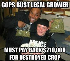 Because cops are not allowed to be funny.