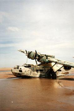 A PBY Catalina at Lonely Coast