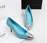 santos feminine,8.5 CM Height Basic High Heels Women Pumps Casual Shoes