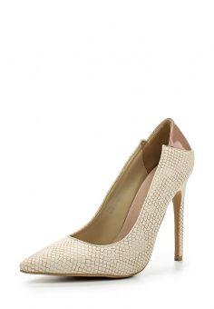 Туфли LOST INK, цвет: бежевый. Артикул: LO019AWGBF11. Женская обувь / Туфли