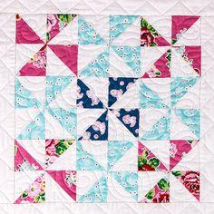 Pretty Playtime Quilt Along - Week 11: Pinwheel Block! - Fat Quarter Shop's Jolly Jabber