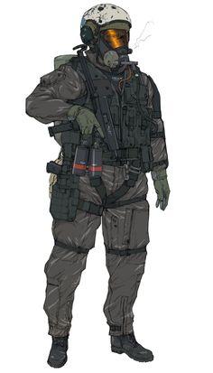 XOF Soldier