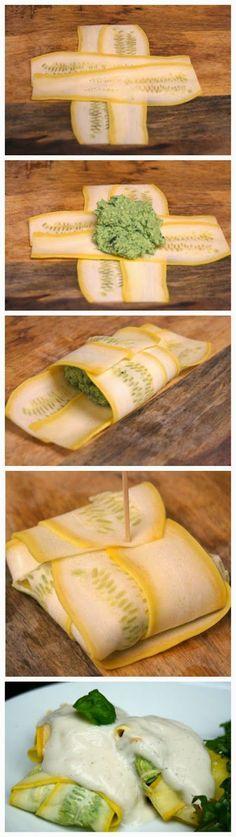 Chicken and Spinach Paleo Ravioli