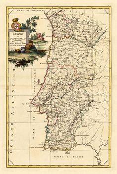 Regno Dell Portogallo.   Venice, Antonio Zatta. 1775