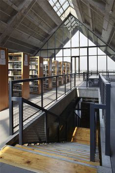 Tanghua Architect&Associates, Dai Qiong · Library of the Sichuan Fine Arts Institute Huxi campus Library Architecture, Vintage Architecture, Vernacular Architecture, Contemporary Architecture, Architecture Details, Interior Architecture, Interior Design, Public Library Design, Modern Library