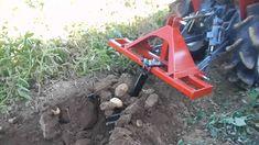 SACA PATATAS SIMPLE PARA TRACTOR PEQUEÑO. www.tractoria.com Garden Tools, Potatoes, Outdoor Power Equipment