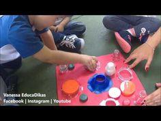 Tampinhas de Garrafa , trabalhando Coordenação Motora Fina | Maternal II - YouTube