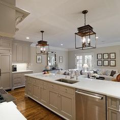 Great #CeilingLights #KitchenDesign #HeartOfTheHome