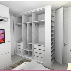 closet layout 392024342564955185 - Source by ceciliagaillard Wardrobe Design Bedroom, Bedroom Cupboard Designs, Bedroom Cupboards, Bedroom Wardrobe, Room Ideas Bedroom, Home Bedroom, Bedroom Decor, Wardrobe Door Designs, Closet Designs
