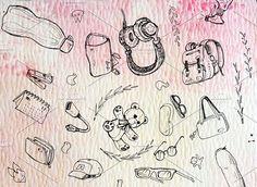 Room Kit Sketch Icon Bundle by MARSOSE on @creativemarket