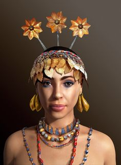 Sumerian lady by José Antonio Peñas on DeviantArt