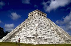 Mexico Spring break, beaches of Cancun and underwater funs make Mexico a travel hot spot. But Mexico is also an attraction for archaeological sites and ancient civilizations that make it an ideal family travel destination. In picture: Kukulkan pyramid stands at the Mayan ruins of Chichen Itza in Mexico's Yucatan peninsula.