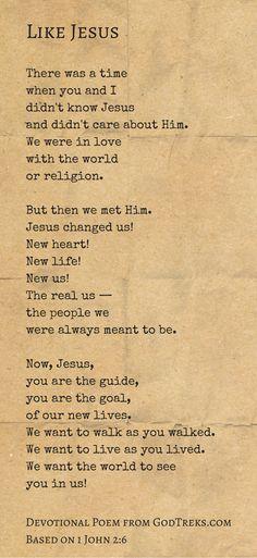 1 John 2:6 #JesusCharacter #Christlikeness
