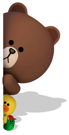 LINE Characters stamp line Lines Wallpaper, Bear Wallpaper, Kawaii Wallpaper, Galaxy Wallpaper, Cute Bear Drawings, Cute Girl Drawing, Girl Cartoon, Cartoon Art, Rilakkuma Wallpaper