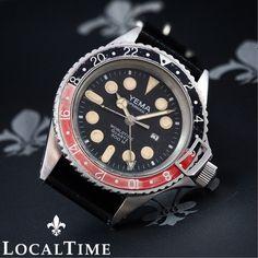 "c1db59ae319 Details about 1970 s YEMA France ""Superman II"" Worldtime Vintage Diving GMT  Watch Ref. RJ0056. Relógios AntigosRelógios AgradáveisHomens ..."
