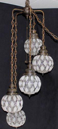 131 best Vintage Swag Lamps images on Pinterest   Chandelier, Lights ...