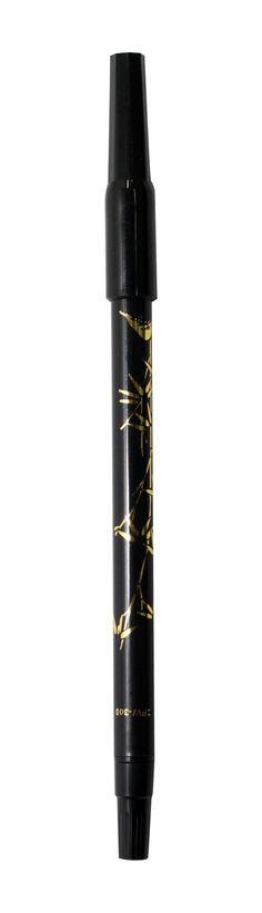 CFW brush pen in black ink.