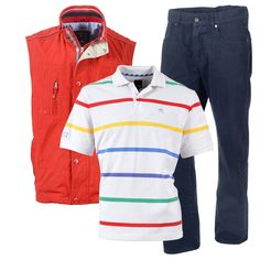 styles from the kartel causal collection. gilet richey, poloshirt groveland and trousers penrice Work Wear, Knitwear, Trousers, Casual, Sweaters, Mens Tops, How To Wear, Jackets, Collection