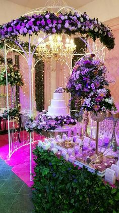 Sweet 16 Party Decorations, Quince Decorations, Quinceanera Decorations, Quinceanera Party, Wedding Decorations, Table Decorations, Enchanted Forest Quinceanera Theme, Enchanted Forest Theme, Lavender Quinceanera Dresses