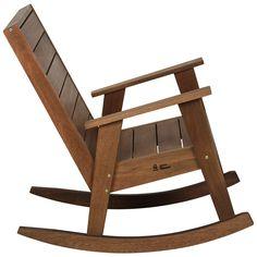 Resultado de imagem para onde comprar cadeira de balanço de madeira Rocking Chair Plans, Club Chairs, Wood Pallets, Woodworking Plans, Wood Projects, Bar Stools, Diy And Crafts, Armchair, Furniture Design